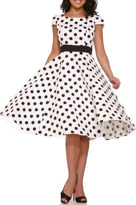 Hearts And Roses Dancing Polka Dots