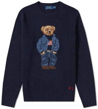 Polo Ralph Lauren Casual Bear Intarsia Knit