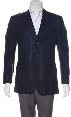 Gianni Versace Wool & Silk Blazer
