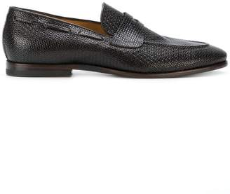 Silvano Sassetti classic textured loafers