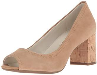 Anne Klein Women's Meredith Peep Toe Pump