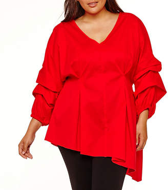 PROJECT RUNWAY Project Runway Tunic Top - Plus