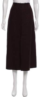 Tome Wool Midi Skirt