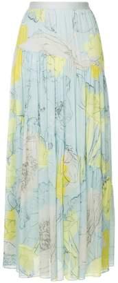 Ginger & Smart Diversity floral full skirt