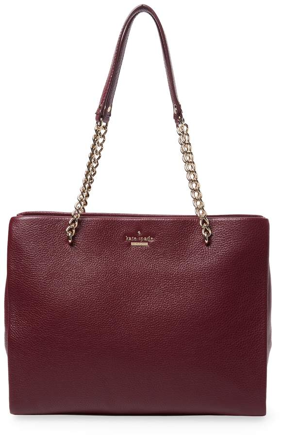 Kate Spade New York Women's Emerson Place Smoooth Phoebe Leather Tote Bag