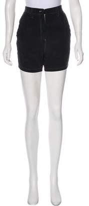 Acne Studios Silk High-Rise Shorts