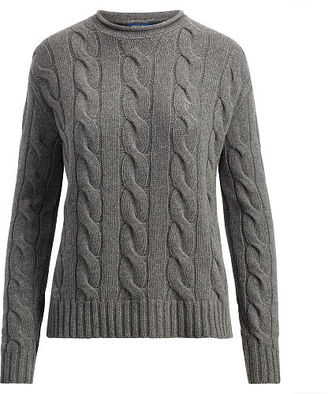 Polo Ralph Lauren Cable Wool-Cashmere Sweater $125 thestylecure.com