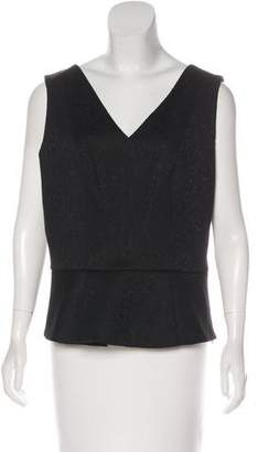 Tahari Sleeveless Peplum Top w/ Tags