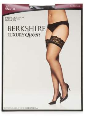 Berkshire Plus Lace Top Thigh Highs