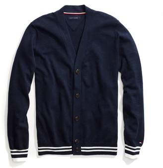 Tommy Hilfiger Stripe Trim Cardigan