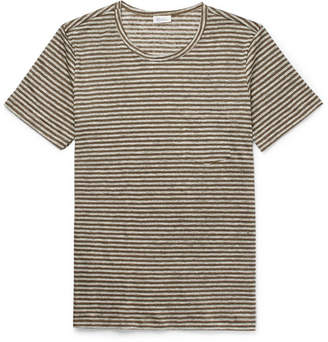Schiesser Helmut Striped Linen T-Shirt