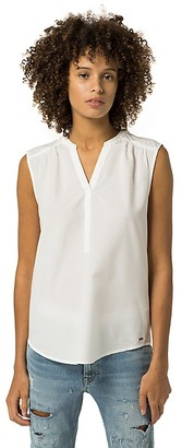 Sleeveless Blouse $59.50 thestylecure.com