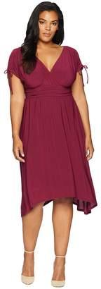 Kiyonna Tessa Ruched Dress Women's Dress