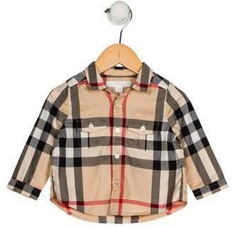 Burberry Boys' Nova Check Shirt