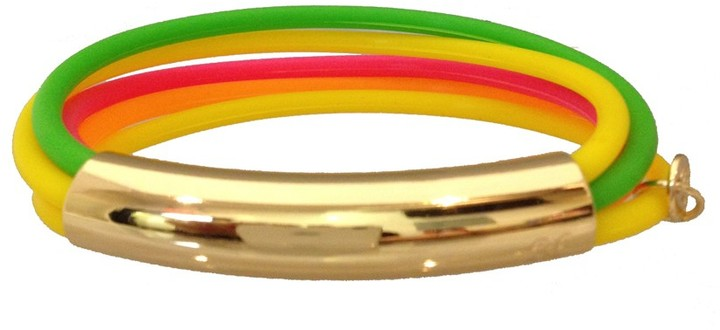 Jules Smith Designs Edie Jelly Bangles in Neon