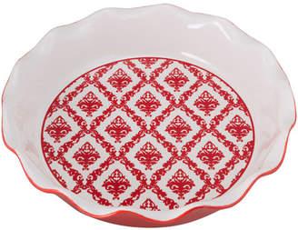 Ten Strawberry Street Damask Pie Dish