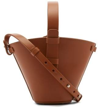 Nico Giani - Nelia Mini Leather Bucket Bag - Womens - Tan