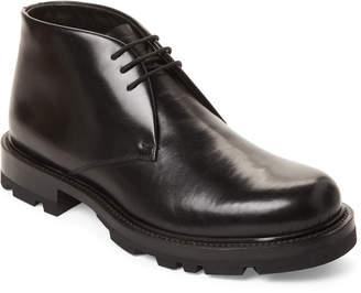Jil Sander Black Real Fur-Lined Ankle Boots
