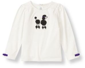 Janie and Jack Poodle Top