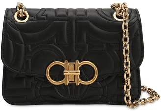 Salvatore Ferragamo Small Quilted Leather Shoulder Bag