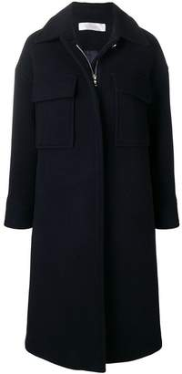 Victoria Beckham Victoria single-breasted fitted coat