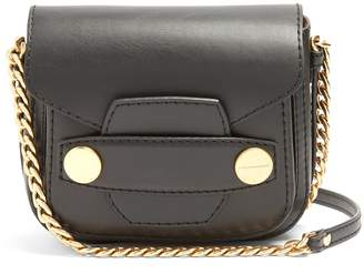 Stella Popper faux-leather cross-body bag