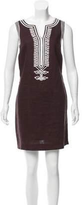MICHAEL Michael Kors Linen Mini Dress