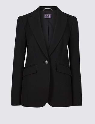 Marks and Spencer Single Breasted Stitch Detail Blazer