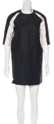 Marissa Webb Silk & Wool-Blend Mini Dress