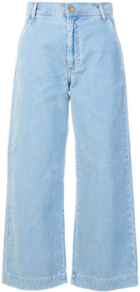 MiH Jeans wide leg corduroy trousers