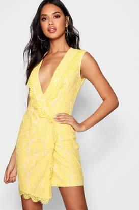 339d68cdeedb5 boohoo Yellow Lace Dresses - ShopStyle
