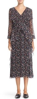 Women's Jason Wu Mayflower Floral Print Silk Dress $1,795 thestylecure.com