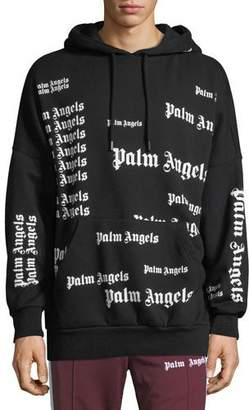 Palm Angels Men's Ultra Logo Pullover Hoodie