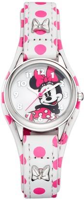 Disney Disney's Minnie Mouse Women's Polka Dot Watch
