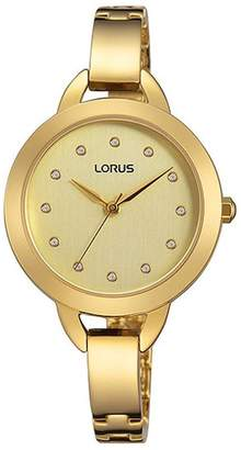 Lorus Women's 30mm -Tone Steel Bracelet & Case Quartz Watch Rg226kx9