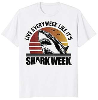 Shark Week Live Every Week Like It's Vintage Graphic T-Shirt