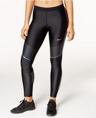 Nike Power Speed Dri-FIT Leggings $150 thestylecure.com