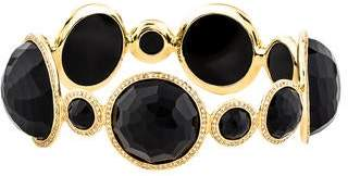 Ippolita 18K Diamond & Onyx Bangle