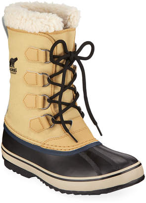 Sorel Men's 1964 Sherpa-Lined All-Weather Waterproof Duck Boots