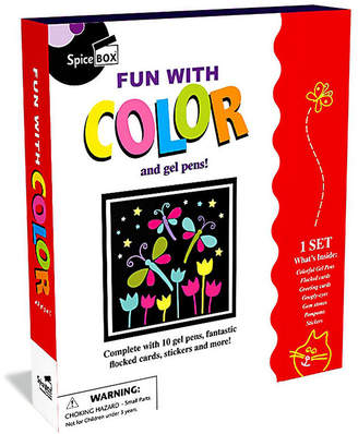 SPICEBOX Spicebox Fun With Color & Gel Pens Craft Kit