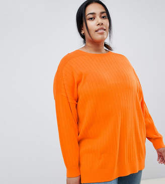 Asos DESIGN Curve oversize jumper in fine knit