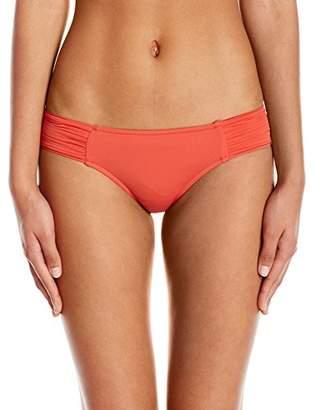 Seafolly Women's Pleated Hipster Bikini Bottom,4 US