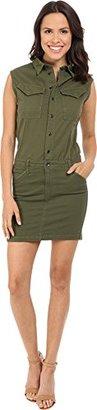 G-star Raw Women's Rovic Slim Dress Short Sleeve Trone Super Stretch Twill $75.99 thestylecure.com