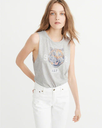 Graphic Muscle Tank $28 thestylecure.com