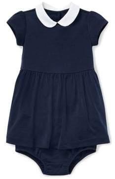 Ralph Lauren Baby Girl's Peter Pan Collar Dress
