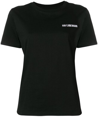 Han Kjobenhavn casual logo T-shirt