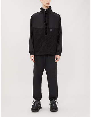 McQ Patch-pocket relaxed-fit straight shell trousers
