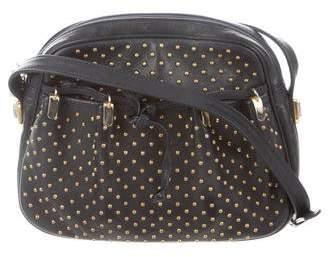 Judith Leiber Embellished Leather Bag