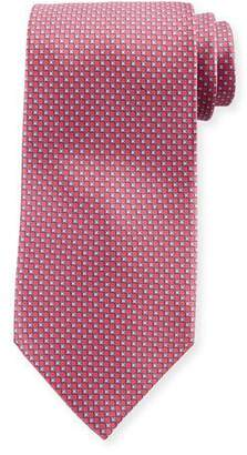 Stefano Ricci Men's Small-Cross Print Silk Tie