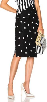 Monse Polka Dot Skirt